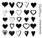 happy valentines day simbol | Shutterstock .eps vector #777660721