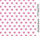 Heart Pattern Love  Background