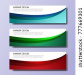 set of modern design   colorful ...   Shutterstock .eps vector #777669301