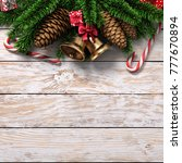 3d rendering light christmas... | Shutterstock . vector #777670894