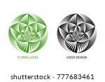 abstract business logo.... | Shutterstock .eps vector #777683461