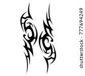 tattoo tribal vector design.... | Shutterstock .eps vector #777694249