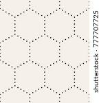 vector seamless pattern. modern ... | Shutterstock .eps vector #777707725