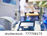 medical equipment for laser and ... | Shutterstock . vector #777708175