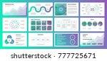 presentation with gradient...