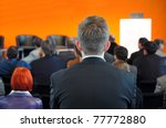 business conference | Shutterstock . vector #77772880