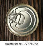 tin can | Shutterstock . vector #77776072