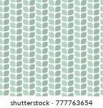 geometric leaves vector... | Shutterstock .eps vector #777763654