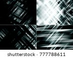 collection of grey illustration.... | Shutterstock . vector #777788611
