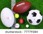 Photo Of Various Sports Balls...
