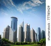 modern building with cloud   Shutterstock . vector #77785429