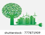 environmental and eco friendly... | Shutterstock .eps vector #777871909