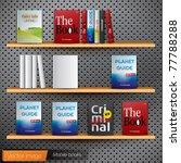 book mobile. vector image | Shutterstock .eps vector #77788288
