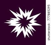 explosion vector symbol  on...   Shutterstock .eps vector #777885295