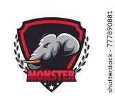 elephant logo vector | Shutterstock .eps vector #777890881