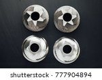 coffee machine grinder conical... | Shutterstock . vector #777904894
