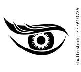 eyesight icon. simple... | Shutterstock .eps vector #777910789
