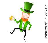 st. patrick's day illustration  ... | Shutterstock . vector #777917119