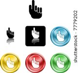 several versions of an icon...   Shutterstock .eps vector #7779202