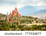 garden of the gods  colorado... | Shutterstock . vector #777930877