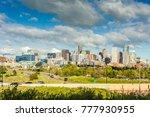 denver city center  capital of... | Shutterstock . vector #777930955