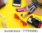 travel or tourism concept. a... | Shutterstock . vector #777943081