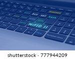 markets in financial... | Shutterstock . vector #777944209