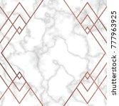 marble texture vector... | Shutterstock .eps vector #777963925
