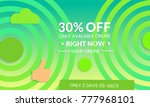 abstract geometric background... | Shutterstock .eps vector #777968101
