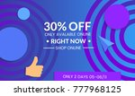 abstract geometric background... | Shutterstock .eps vector #777968125