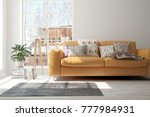 idea of white minimalist room... | Shutterstock . vector #777984931