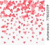 valentines day romantic... | Shutterstock .eps vector #778032559