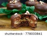 brazilian honey cookie with... | Shutterstock . vector #778033861