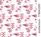 beautiful japanese seamless ... | Shutterstock .eps vector #778042285