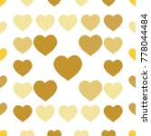 seamless background pattern.... | Shutterstock .eps vector #778044484