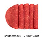 artificial sausage for... | Shutterstock . vector #778049305