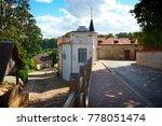 small baltic town saldus in... | Shutterstock . vector #778051474