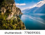 panorama of the gorgeous lake...   Shutterstock . vector #778059301
