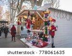 zagreb  croatia  december 19 ... | Shutterstock . vector #778061635