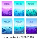 dedicated to undersea vector... | Shutterstock .eps vector #778071439