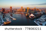 an aerial view of baltimore's... | Shutterstock . vector #778083211