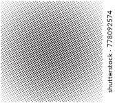 halftone pattern background ... | Shutterstock .eps vector #778092574