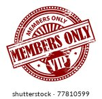 grunge rubber stamp with the... | Shutterstock .eps vector #77810599