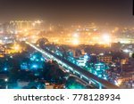 aerial view of the cityscape of ... | Shutterstock . vector #778128934