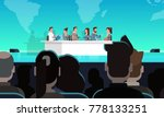 business conference public... | Shutterstock .eps vector #778133251