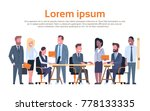group of business people... | Shutterstock .eps vector #778133335