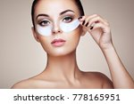 portrait of beauty woman with... | Shutterstock . vector #778165951