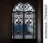 apartment door  paris | Shutterstock . vector #778183627