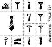 formal icons. set of 13... | Shutterstock .eps vector #778184539