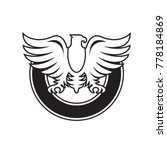 phoenix or bird crest vector... | Shutterstock .eps vector #778184869